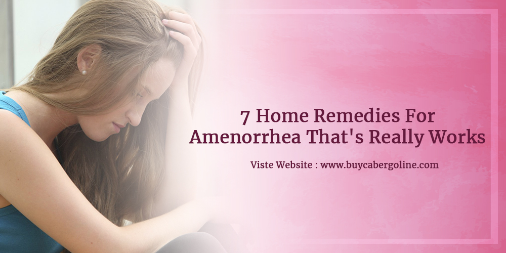 7 Home Remedies For Amenorrhea That's Really Works