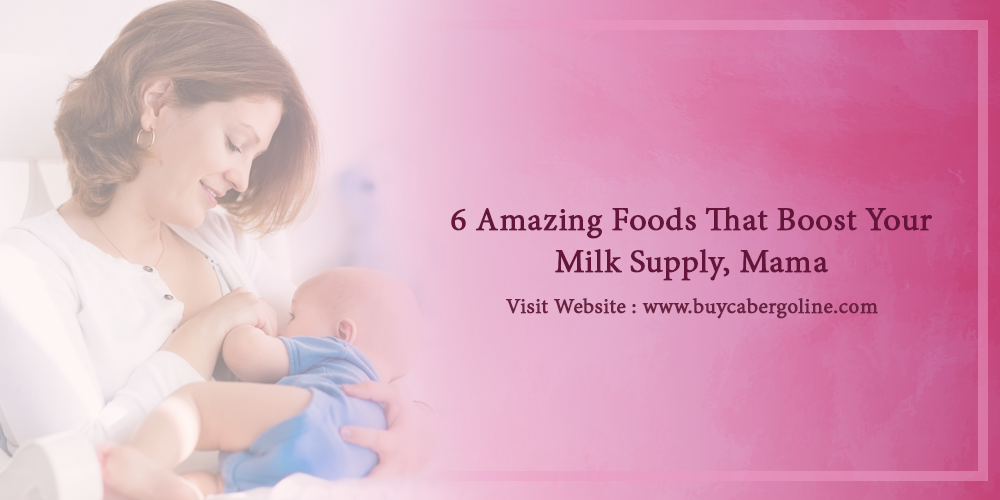 6 Amazing Foods that boost your milk supply, mama